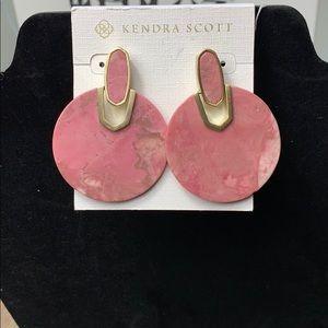 Kendra Scott Earrings in pink
